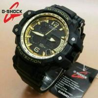JAM TANGAN G-SHOCK GPW 100 DOUBLE TIME MURAH BANDUNG WARNA BLACK/GOLD