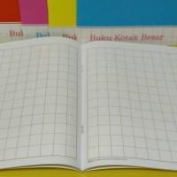 Buku Kotak Besar / Buku Tulis Mandarin 38 Lembar Merk Kiky