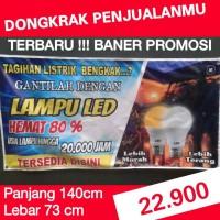 harga Baner Led Murah Dongkrak Penjualan Tokopedia.com