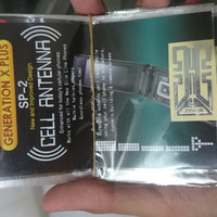 Sticker Penguat Sinyal Signal Booster Cell Antenna Generation X Plus S