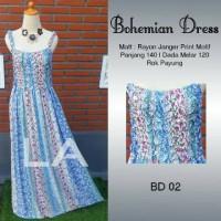 Jual Bohemian Dress Murah