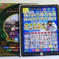 Playpad Anak Muslim 4 Bahasa With LED ,Playpad Arab