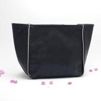 YSL Glitter Black Pouch Cosmetic Bag Tas Kosmetik Hitam