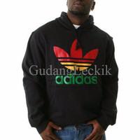 Hoodie Adidas Rasta Exclusive Hitam VV1U