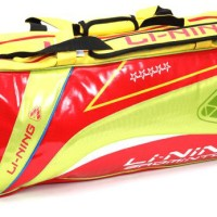 Tas Badminton / Bulutangkis Lining ABDH 116 (Red/Yellow)