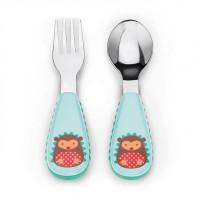 Skiphop / Skip hop Zootensils Fork and Spoon Hedgehog