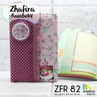 Jual al quran A6 10*15 cm madina rainbow tajwid terjemah zhafira rose Murah