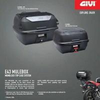 harga BOX MOTOR GIVI E43 NEW MULEBOX - BAGASI MOTOR - PENGGANTI E20 Tokopedia.com