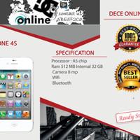 IPHONE 4S 32 GB BLACK/WHITE GARANSI 1 TAHUN DISTRIBUTOR