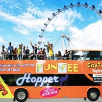 Tiket Fun Vee Hop On Hop Singapore (Dewasa)