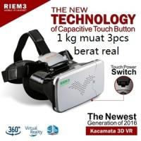 Riem 3 - VR Box Cardboard nonton asik di handphone