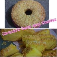 Bolu Tape ( Casava Cake )