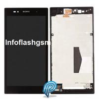 Jual Lcd Touchscreen Sony Xperia Z ultra XL39H +Frame Black Baru | S