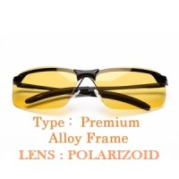 Jual Kacamata Malam Anti Silau Night View Glasses Vision Type Premium Murah