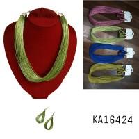 Kalung + anting vintage KA16424