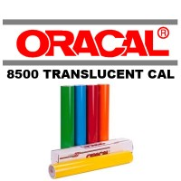 Sticker Oracal 8500 Translucent Cal (Silver & Gold)