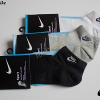 Kaos Kaki Pendek Nike / Kaus Kaki Olahraga Mata Kaki Pria & Wanita K3