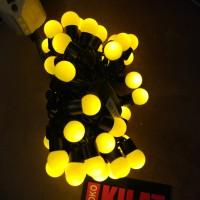 harga Lampu Led Pohon Natal Bulat Kelereng Bola - Kuning Tokopedia.com