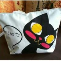 TAS shoulder motif kucing unyu banget - limited stock