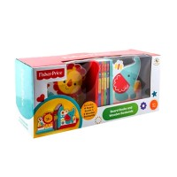 harga Fisher Price Board Books and Wooden Bookends Tokopedia.com