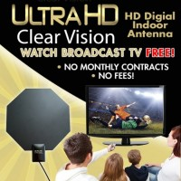 antena TV LED antenna indoor lcd full Ultra HD Clear Vision mini kabel
