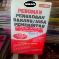 Harga pedoman pengadaan barang jasa pemerintah perpres no 54 thn | WIKIPRICE INDONESIA