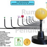 MODEL TATA SURYA (SOLAR SYSTEM) (Via Pengiriman Go-Kilat)