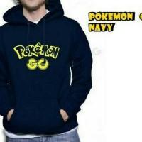Jaket Pria Terlaris / Jaket Pokemon Go Navy / pusat Fashion Grosir