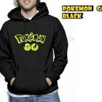 Jaket Pria Terlaris / Jaket Pokemon Go Black / pusat Fashion Grosir