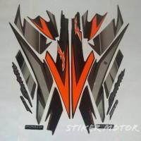 stiker motor satria fu 150 2007 hitam