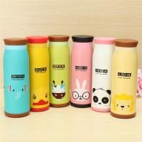Botol Termos warna warni karakter kartun, lucu dan imut 500 ml
