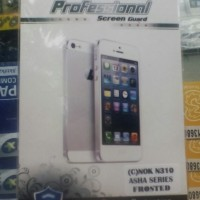 Anti Gores Nokia Asha 310 Warna Bening, Screen Guard Asa Ultra Clear