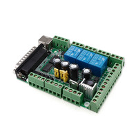 CNC MACH3 USB 6 Axis Interface Breakout Board Adapter PWM Spindle AP26