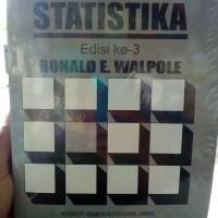 pengantar statistika edisi 3 by Ronald E Walpole