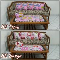 Set Sarung Bantal Sofa Hello Kitty
