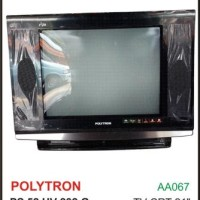 "TV TABUNG CRT POLYTRON 21"" PS52UV232G"