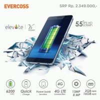 HP EVERCOSS S55 ELEVATE Y2 POWER 4G LTE 16GB RAM 2GB | GARANSI 1 TAHUN