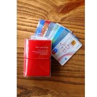 Jual Dompet Kartu ATM SIM Kartu kredit 32 Slot / Korean Style Card Wallet Murah