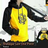 Jaket/Sweater Anime One Piece Trafargar Law