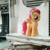 Gelang lego & kalung lego figure my little pony scootaloo