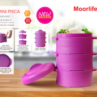 Moorlife Mini Pisca / Steamer / Pengukus Mini / Harbolnas