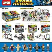 Jual lego kw batman v superman xinh x 301 storm heroes Murah