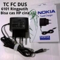 Charger Nokia 6101 packing dus ( nokia kecil)