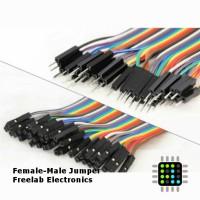 Female male kabel jumper 10 buah