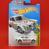 Hot Wheels FORD ESCORT RS1600 Castrol Putih
