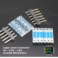 Logic Level Converter 5V ke 3.3V Kompatibel dengan Arduino