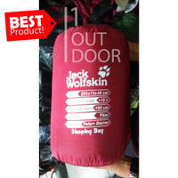 Jack Wolfskin Sleeping Bag Double (Polar + Dacron) Model Tikar