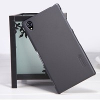 Sony Xperia Z1 Nillkin Super Frosted Shield Hard Case - Hitam