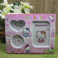 harga Frame Photo + Jam CF1540 - Hello Kitty Tokopedia.com