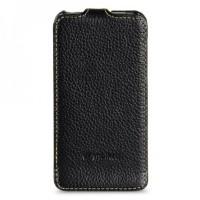 MELKCO Premium Leather Case Jacka Type for HTC One V - Black